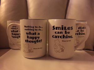 WINNIE the POOH - set of 4 MUGS (2 pairs) for Sale in Castro Valley, CA