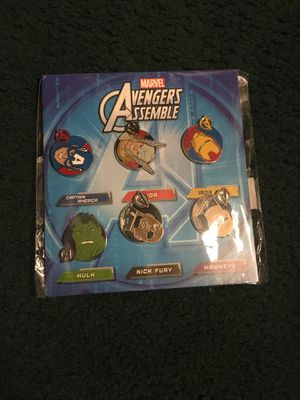 Marvel Pins from Disney World for Sale in Stockton, CA