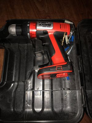 Fire storm Black & Decker drill for Sale in Grimes, IA