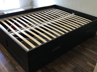 2 Queen size bed frames with storage drawers for Sale in Benicia,  CA