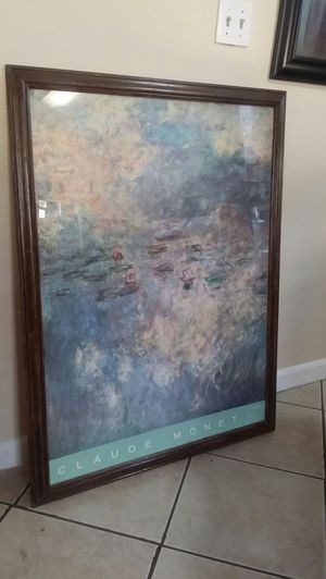 Monet Picture Frame for Sale in Hawthorne, CA