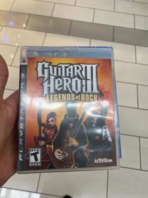 Ps3 guitar hero legends of rock Activision PlayStation for Sale in Los Angeles, CA