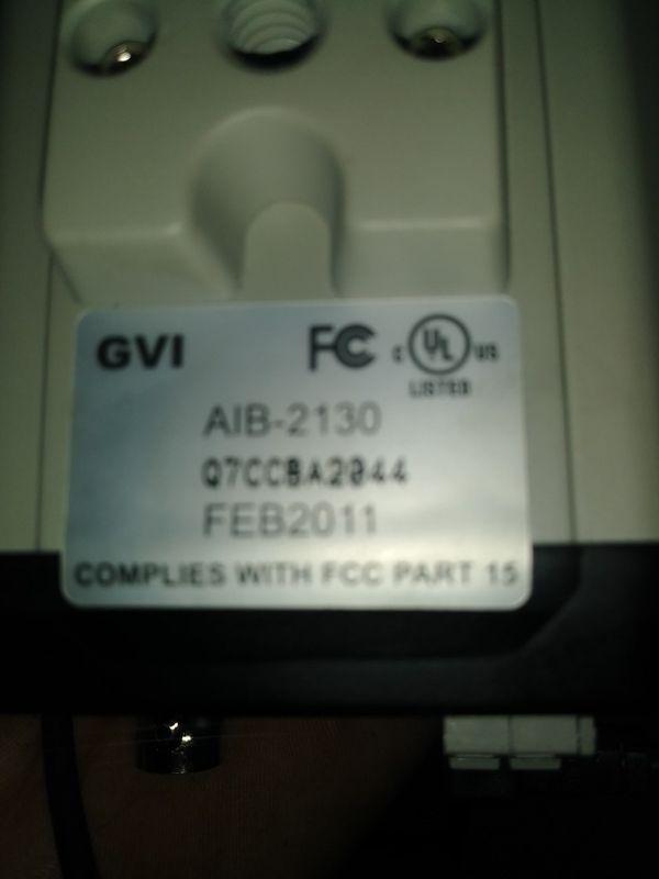 GVI CCTV Camera with 5-100mm lens
