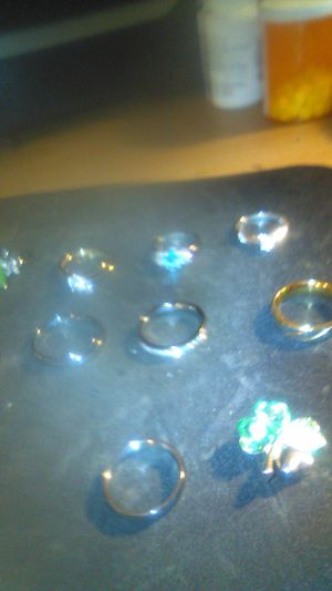 Wedding bands and rings one pendit for Sale in Wildwood Crest, NJ