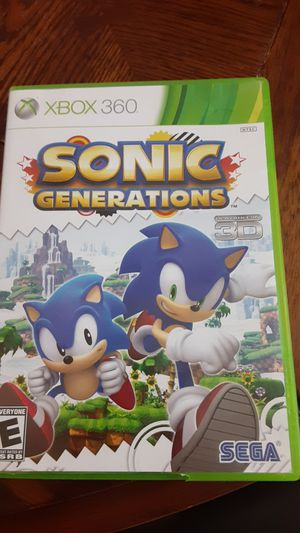 Sonic Generations xbox360 for Sale in Grand Saline, TX