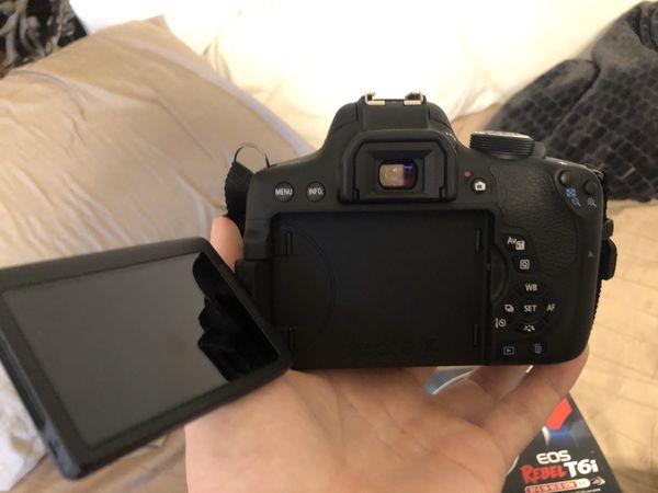 Canon Rebel T6i