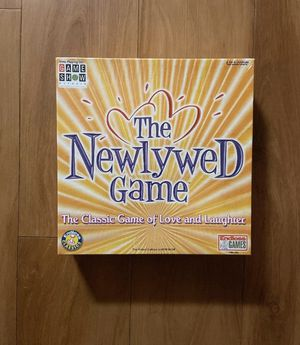 Brand new and sealed Newlywed Game Board Game for Sale in Miami, FL
