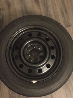 Car Tire And Rim 185/65R15 88H for Sale in Peoria,  AZ