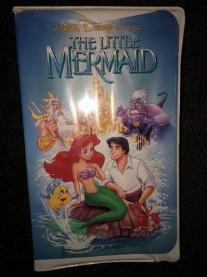 Little mermaid VHS for Sale in St. Petersburg, FL