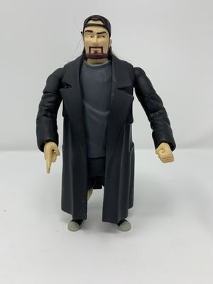 Silent Bob Action Figure Kevin Smith Graphitti Design - Autograph Signed for Sale in El Monte, CA