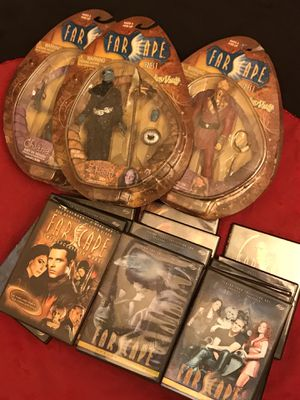 Farscape Complete Series & Collectable Action Figures for Sale in St. Louis, MO