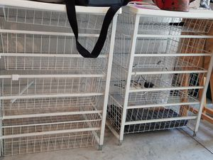 Storage shelve drawers for Sale in Rochester, NY