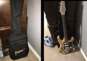 Electric Guitar & Bag $65 for Sale in Oak Lawn, IL
