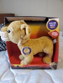 Disney The Lion King Roaring Simba for Sale in Prattville,  AL