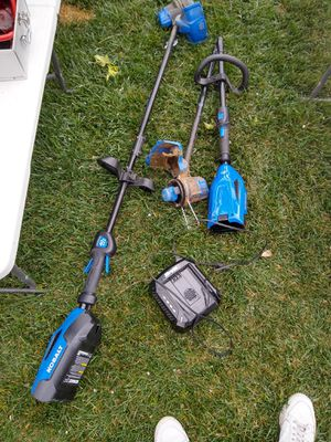 Kobalt weed whackers and charger for Sale in Fresno, CA