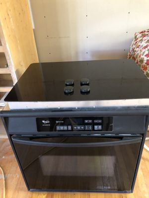 Jenn Air cooktop plus whirlpool oven. Excellent condition. Free hood buying the set. for Sale in Manhattan Beach, CA