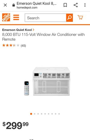 EQK Emmerson window air conditioner 8000BTU for Sale in The Bronx, NY
