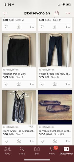 See designer clothes on my Poshmark account! {link removed} for Sale in Denver, CO