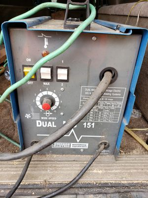 Chicago electric 220v dual mig 151 welder for Sale in Graham, WA