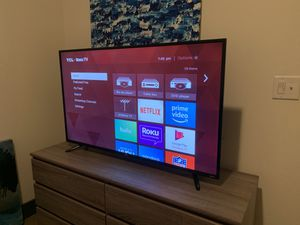 "TCL 55"" 4K UHD Roku TV for Sale in Richmond, VA"
