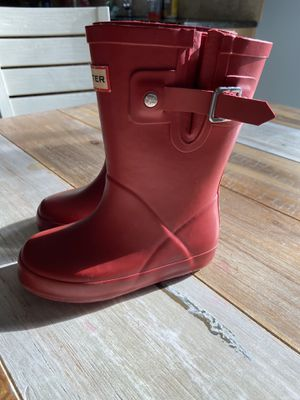 Girls Hunter Boots size 7 for Sale in Howell, MI