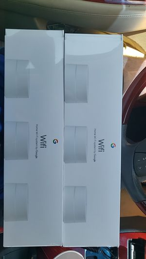 Google Mesh Wifi Router 3 Pack Brand New Sealed for Sale in Norcross, GA