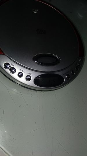 CD player with charger and music $20 for Sale in Plano, TX