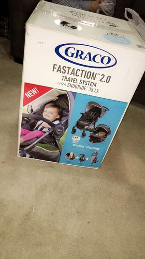 Brand new graco stroller and car seat for Sale in Allen Park, MI