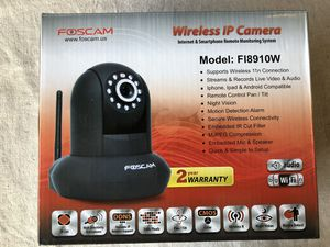 Foscam Security Wireless IP WIFi camera Video for Sale in San Jose, CA