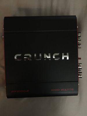 Crunch amp 1000 watts for Sale in Arroyo Grande, CA