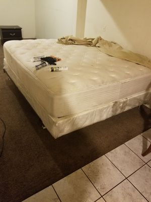 Bed, bed Frame, and mattress for Sale in Fresno, CA