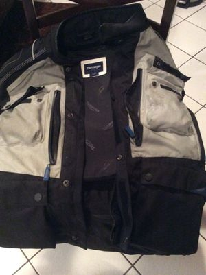 TRIUMPH MOTORCYCLE RIDING JACKET for Sale in Tujunga, CA
