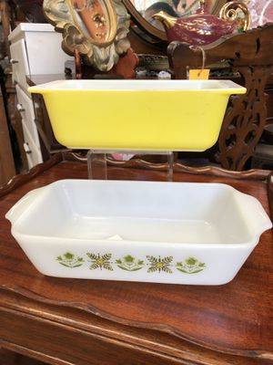 Vintage Pyrex casserole dishes $15 each for Sale in San Diego, CA