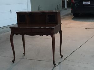 Antique Wooden Desk for Sale in San Diego, CA