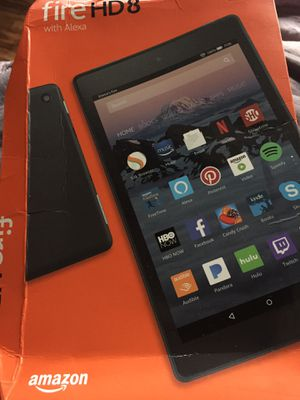 Kindle fire hd 8 with alexa for Sale in Curtis Bay, MD