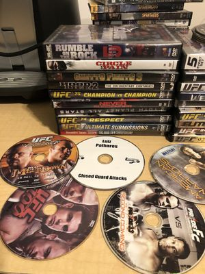 UFC fighting dvd collection for Sale in Cary, NC