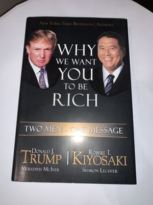 Why We Want You To Be Rich Book NEW for Sale in Bakersfield, CA