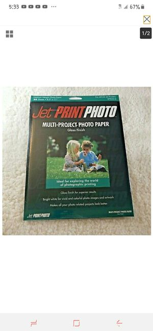 Multi-Project photo paper for Sale in Wichita, KS