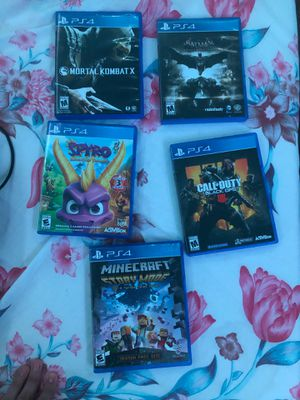 PS4 games for Sale in MD, US