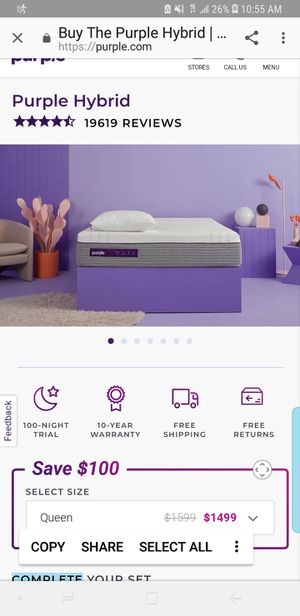 High End Mattresses Memory Foam Innerspring California King, Queen, Full and Twin Sizes for Sale in Phoenix, AZ