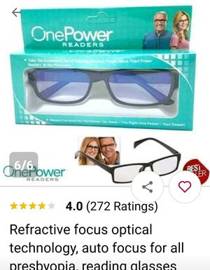 Higher power glassess New in box for Sale in Woodburn, OR