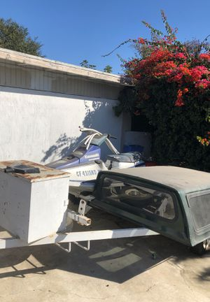 Jet ski and camper for Sale in Los Angeles, CA