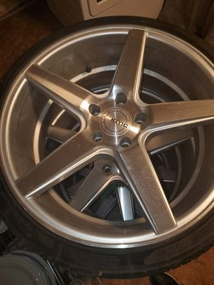 Fits infinity rims n tires for Sale in Taunton, MA