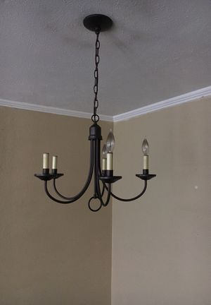 Great light fixture dining area for Sale in Dallas, TX