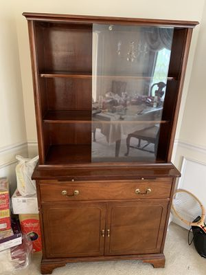 Brickwede China Cabinet Solid Wood Antique for Sale in Clifton, VA