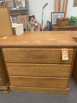All wood dresser. Nice. WOOD! for Sale in Tulare, CA