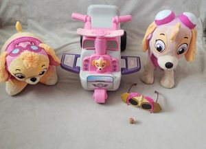 """Paw Patrol """"Skye"""" plushie and more for Sale in Grand Prairie, TX"""