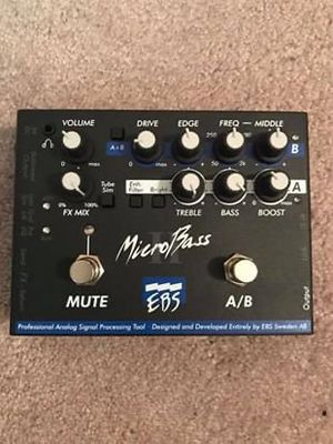EBS MicroBass II Bass preamp for Sale in Dallas, TX