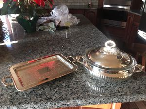 Silver plated serving set for Sale in Bosler, WY