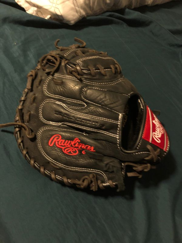Baseball catchers glove